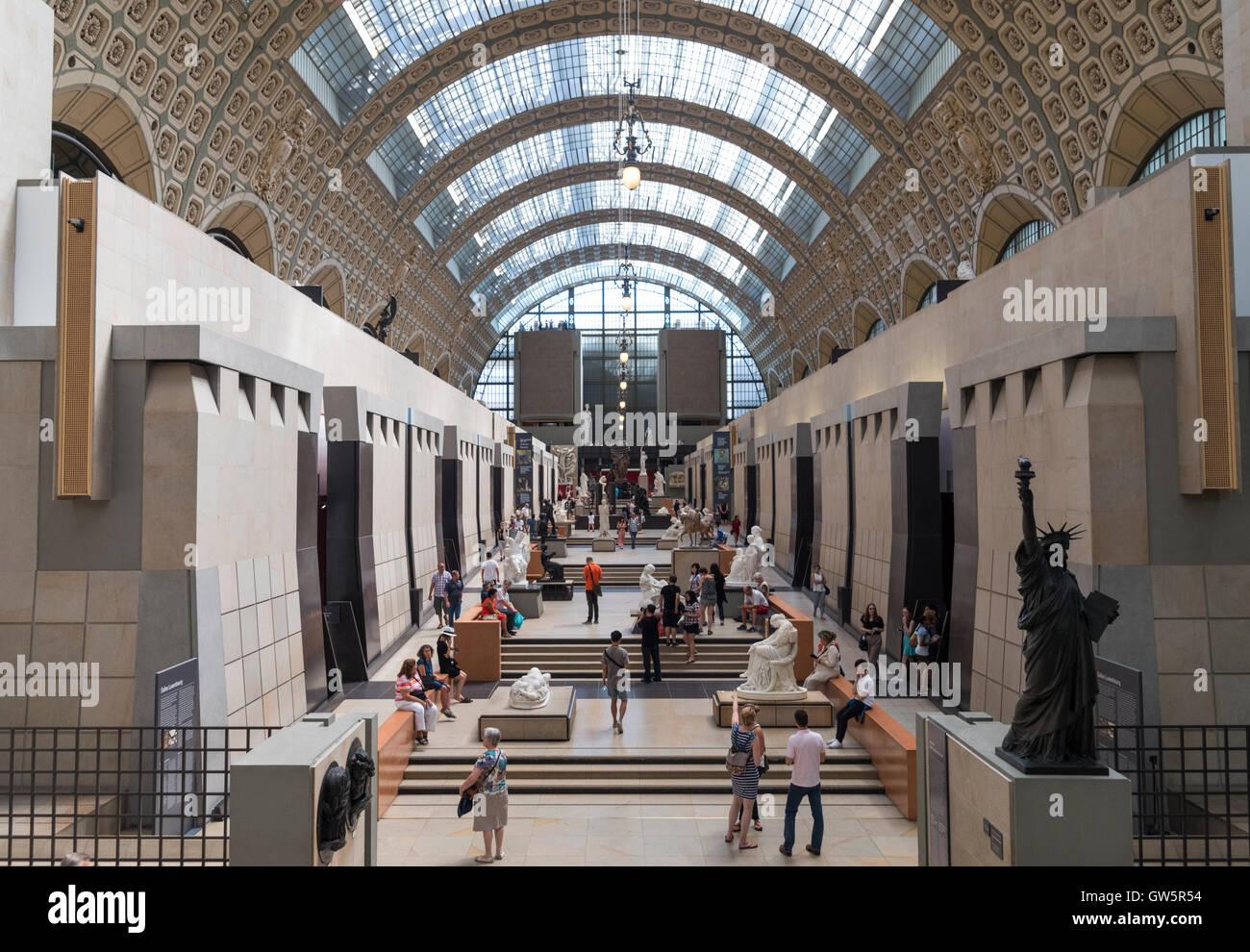 The Musée d'Orsay museum, Paris, France - Stock Image