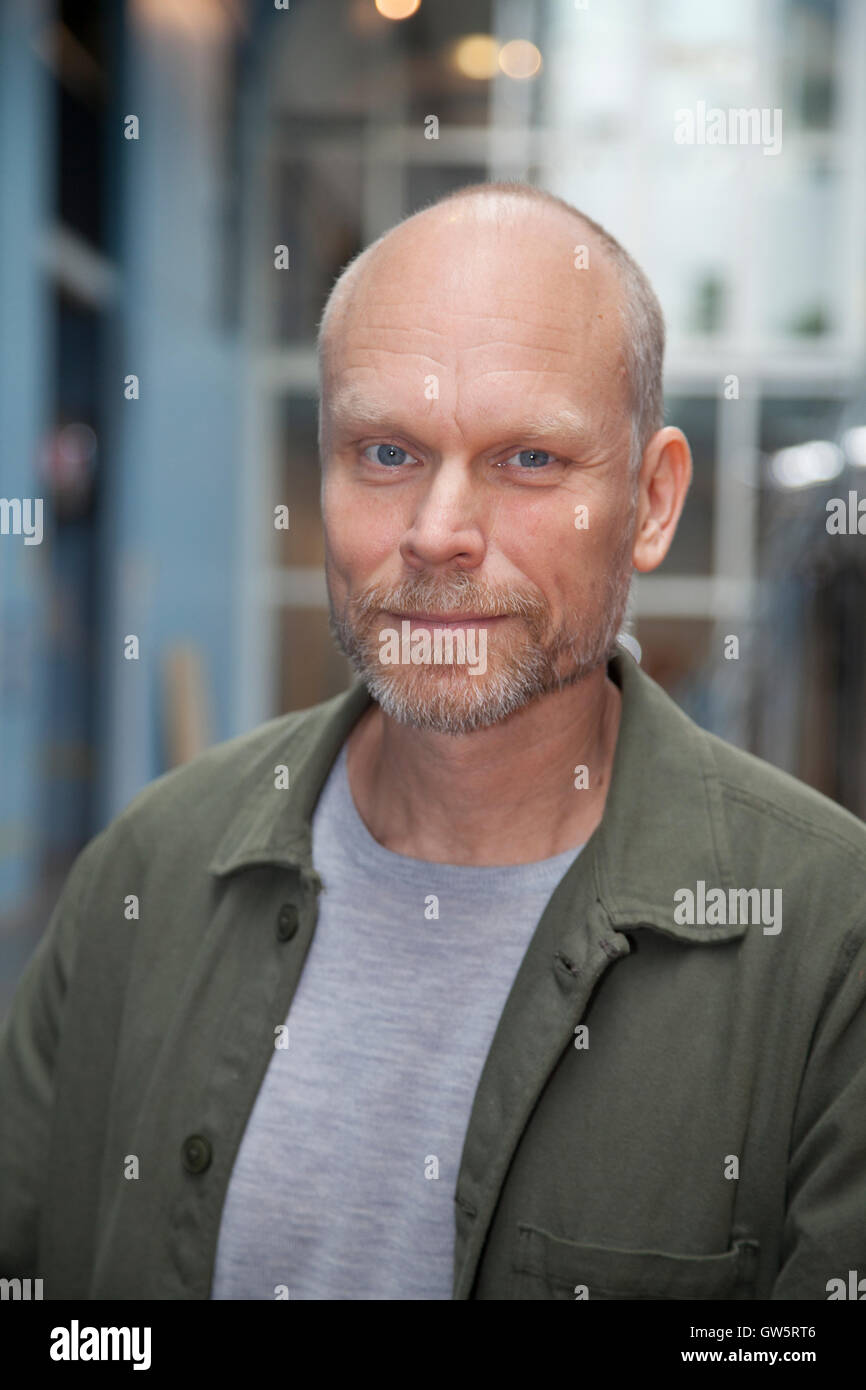 KRISTIAN LUUK Host in Swedish television - Stock Image