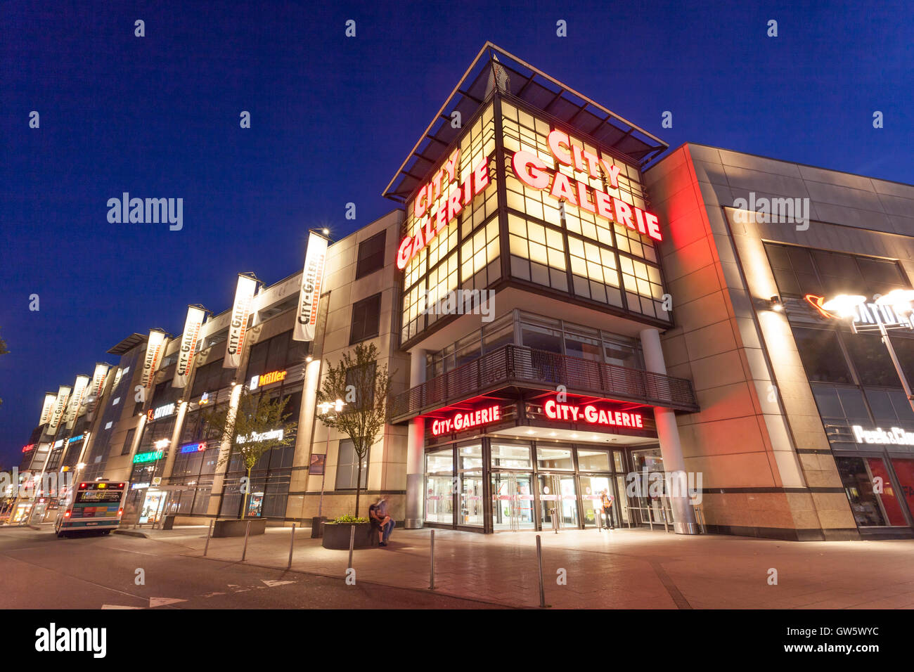 City Galerie shopping mall in Siegen, Germany Stock Photo - Alamy