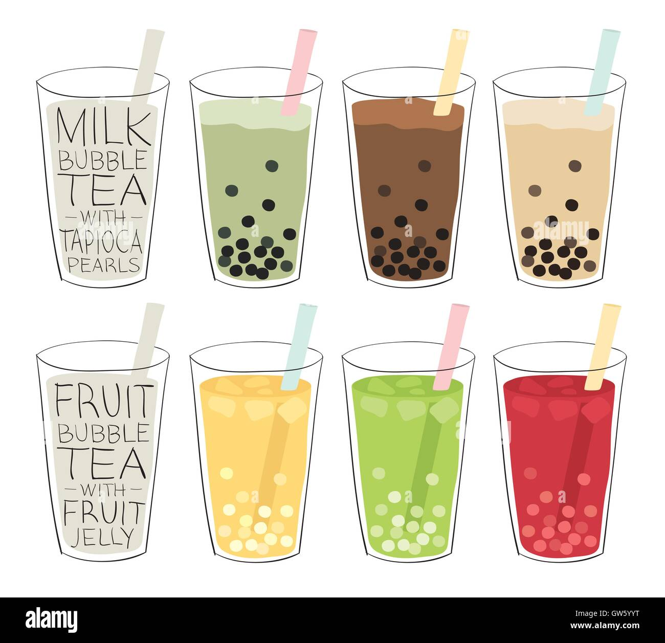 Tapioca pearls bubble tea recipe Taiwanese Bubble