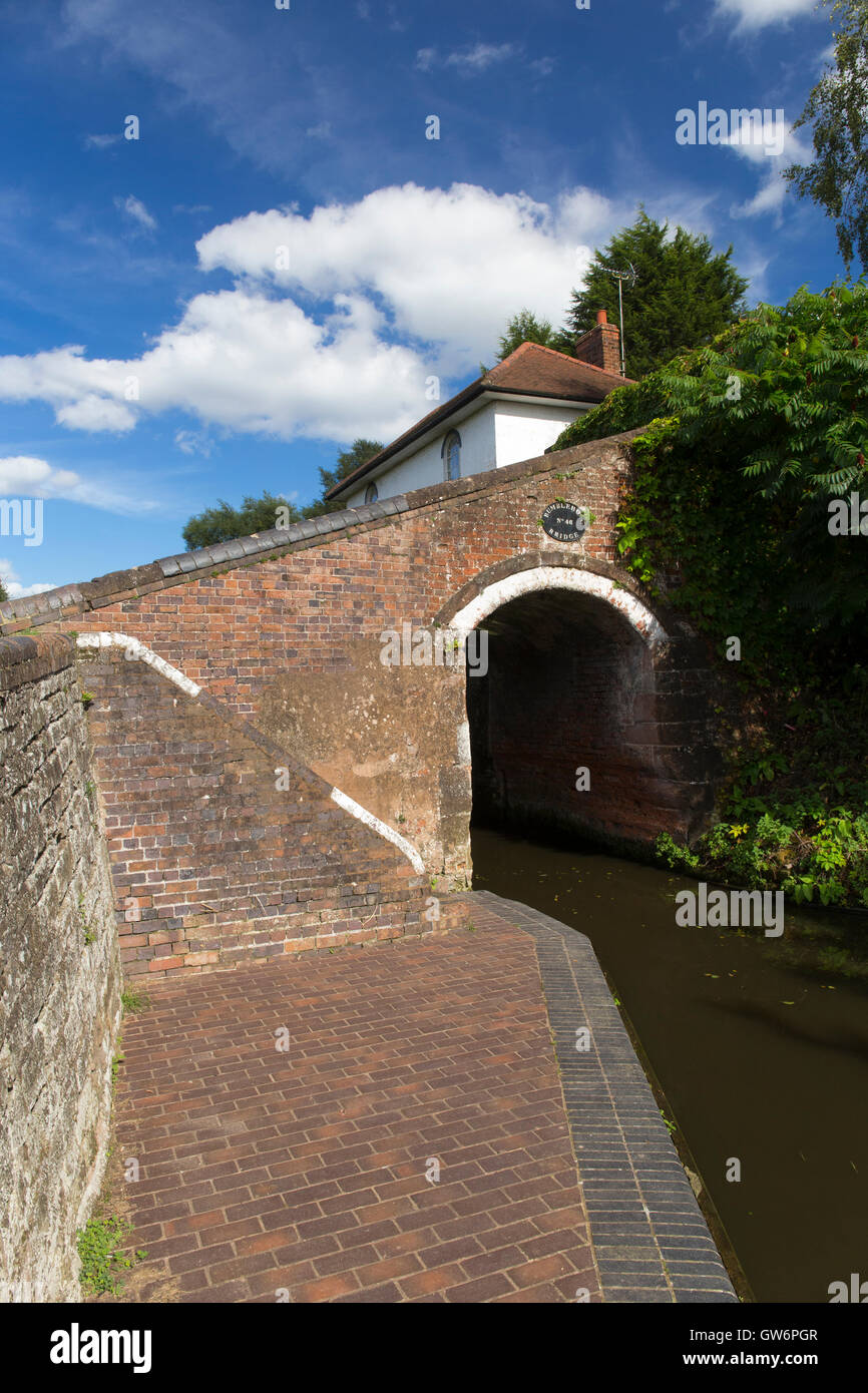 Bumble Hole Lock Staffordshire and Worcestershire Canal Wombourne South Staffordshire England UK Stock Photo