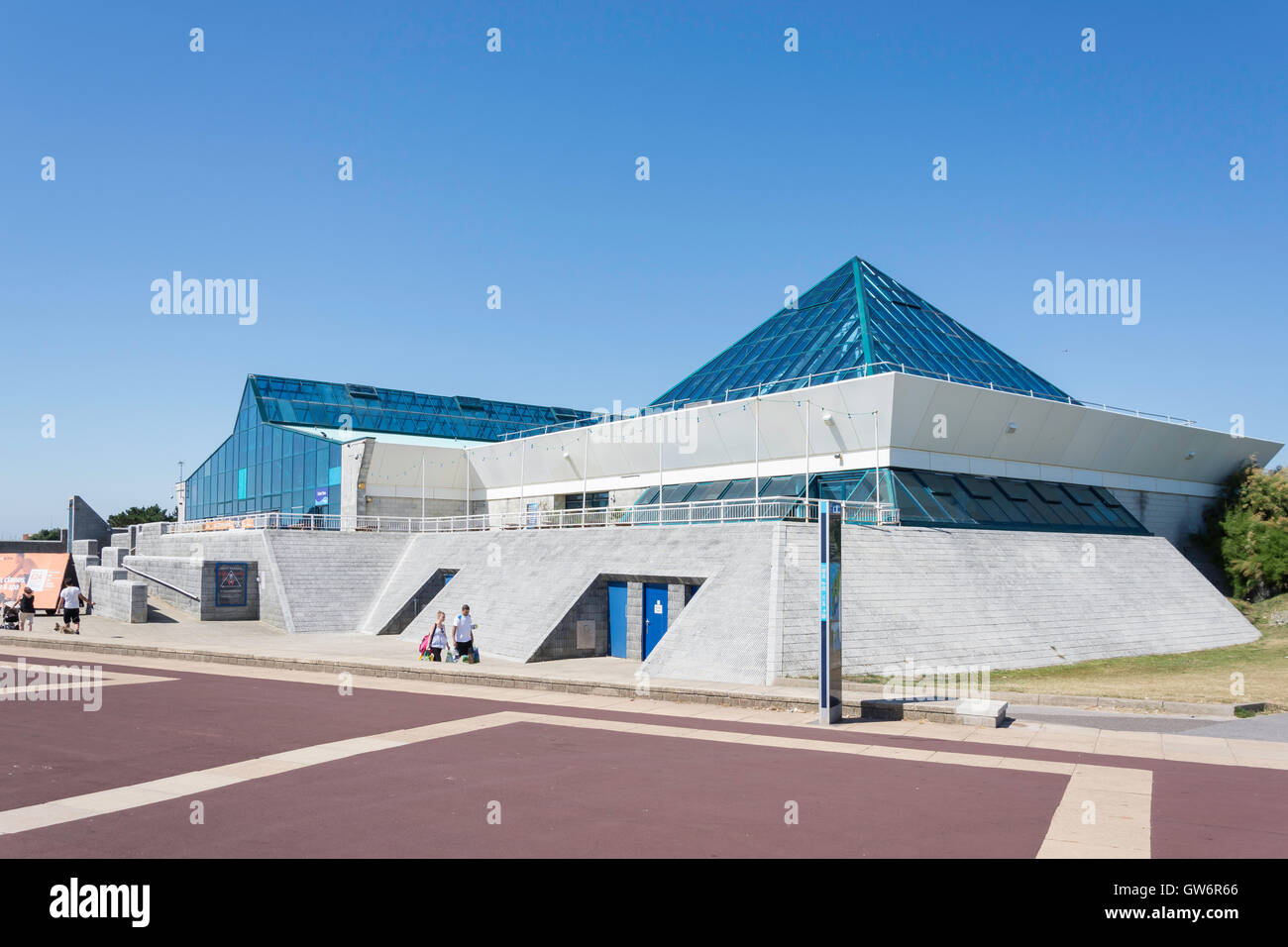 The Pyramids Entertainment Centre, Clarence Esplanade, Southsea, Portsmouth, Hampshire, England, United Kingdom Stock Photo