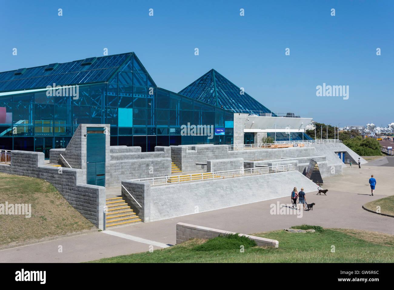 The Pyramids Entertainment Centre,Clarence Esplanade, Southsea, Portsmouth, Hampshire, England, United Kingdom Stock Photo