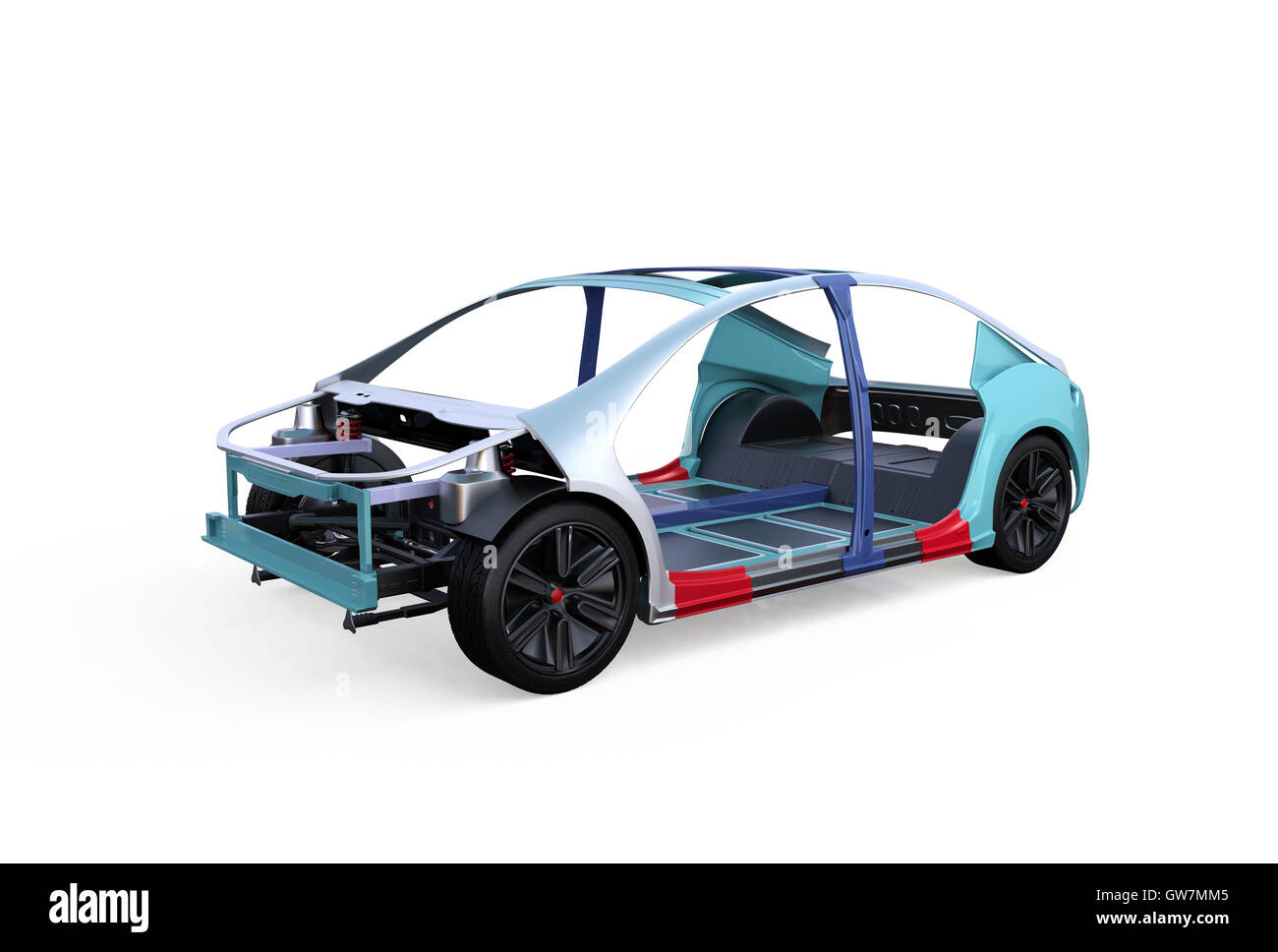 Unibody Car Chassis Stock Photos & Unibody Car Chassis Stock Images ...