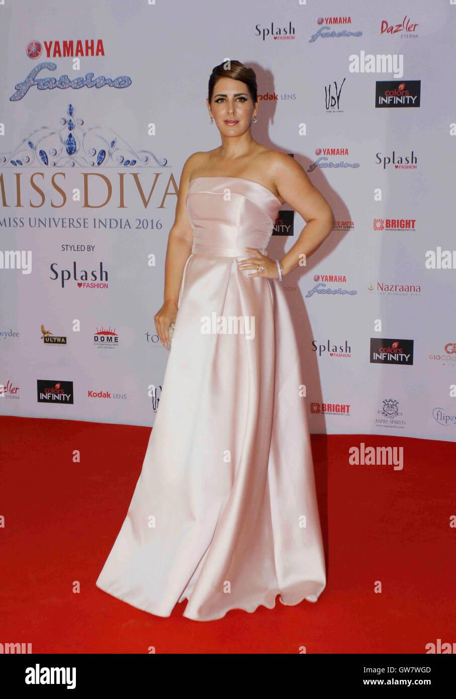 Fashion Designer Pria Kataaria Puri During The Grand Finale Of Yamaha Stock Photo 118802333 Alamy