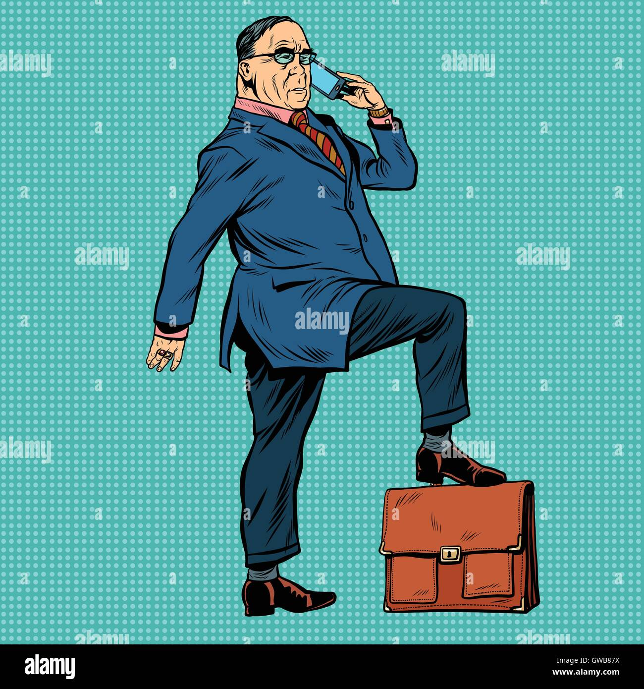 Boss business people - Stock Vector