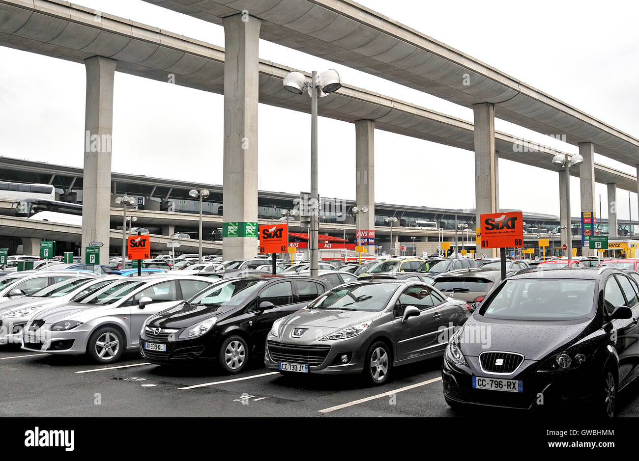 airport rent car stock photos airport rent car stock images alamy. Black Bedroom Furniture Sets. Home Design Ideas