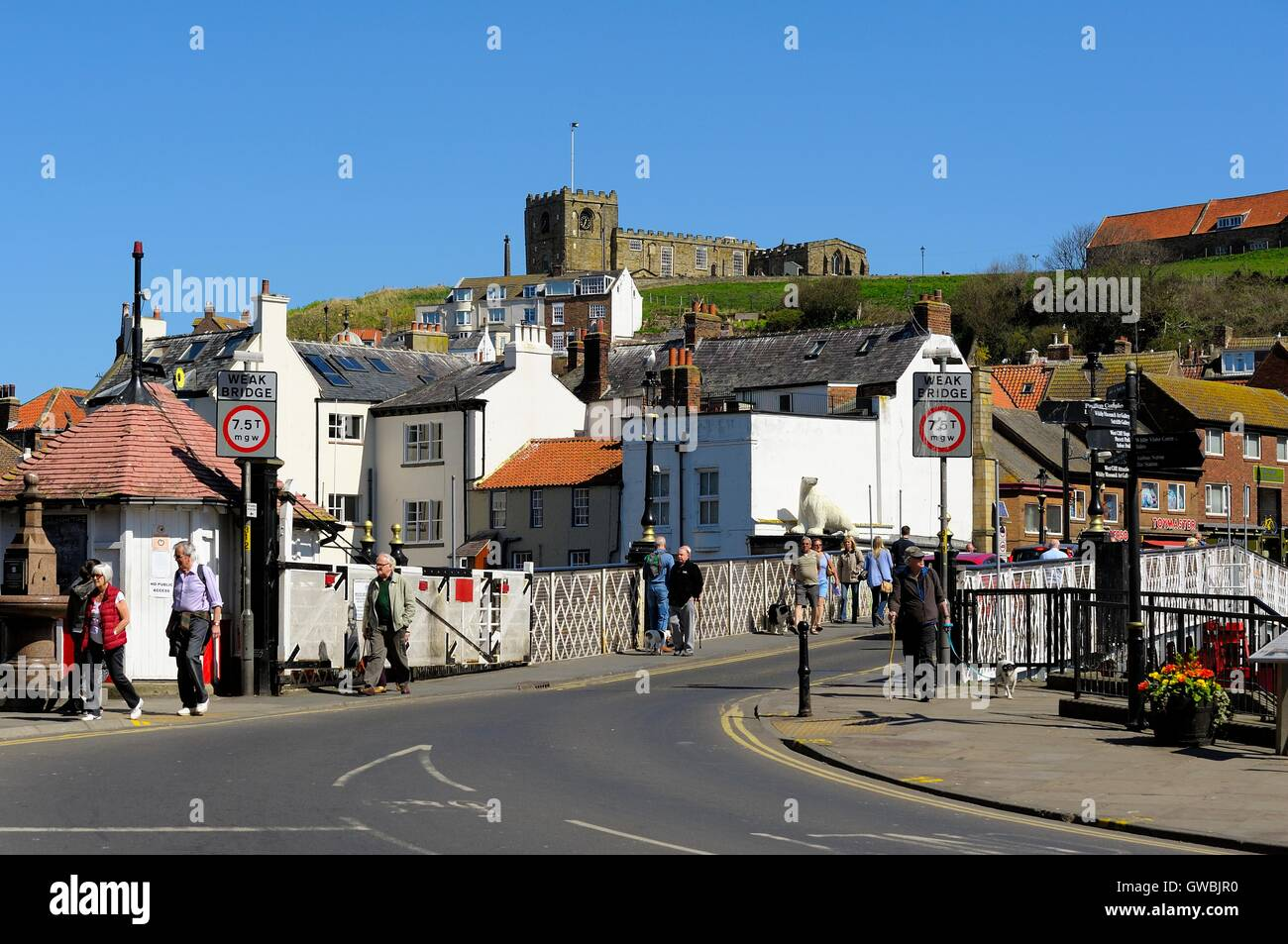 whitby - Stock Image