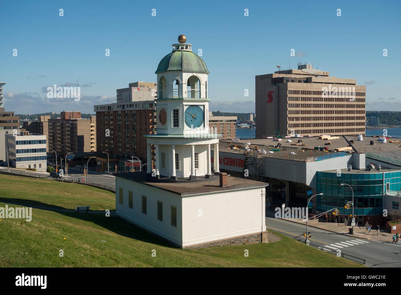 Citadel hill Fort George Halifax Nova Scotia Canada Stock