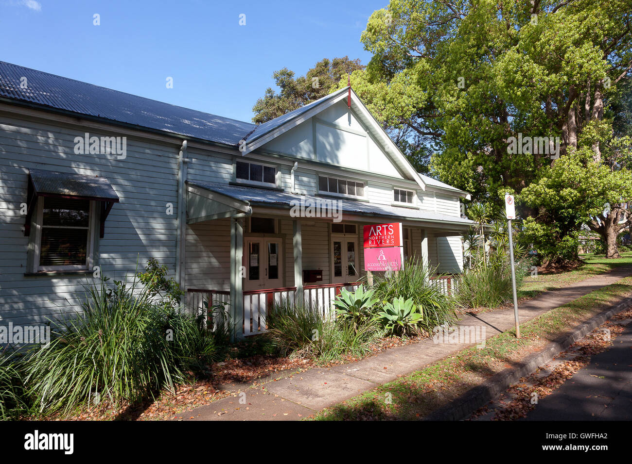 Arts Northern Rivers, Alstonville, NSW, Australia - Stock Image
