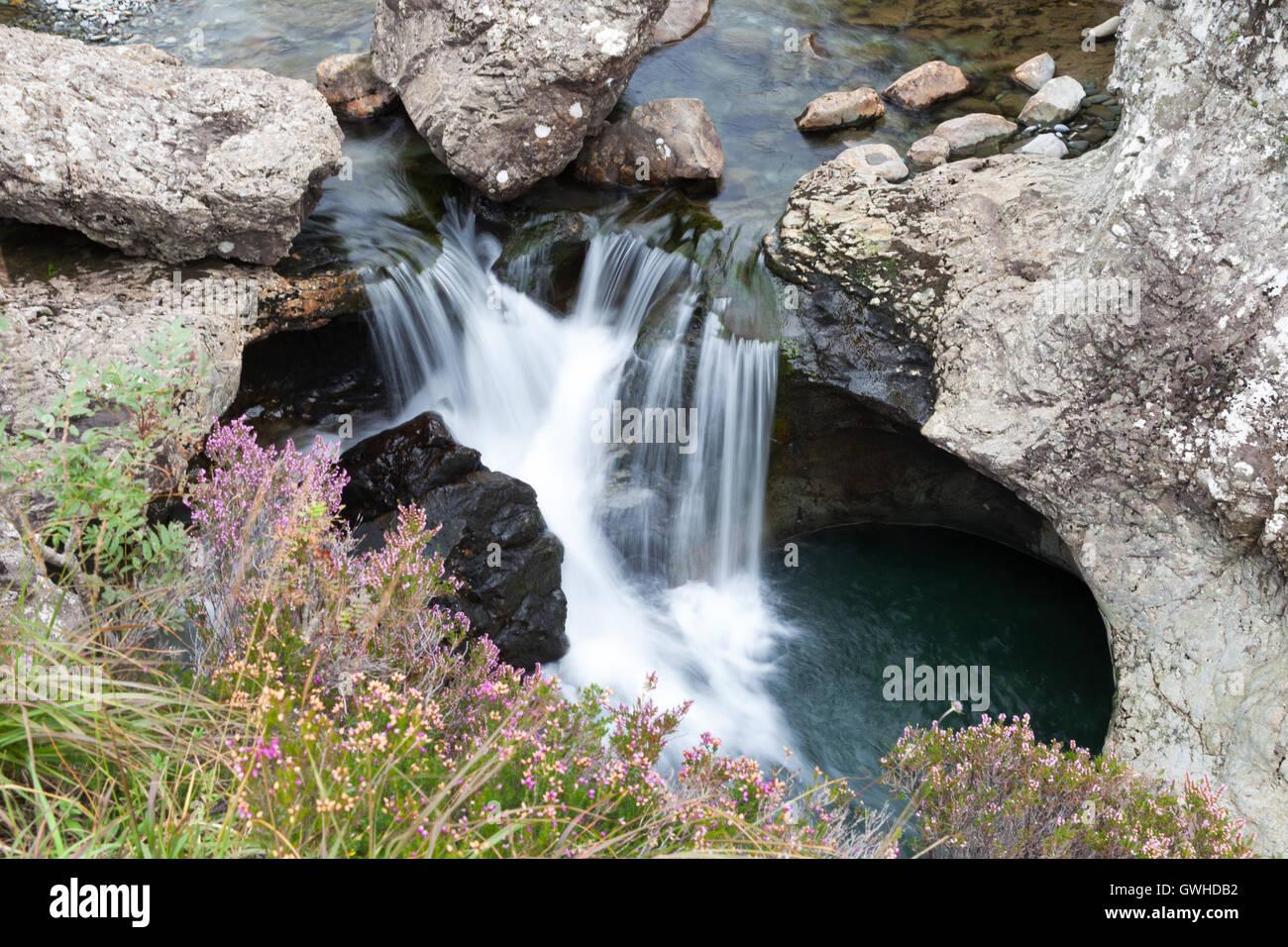 Fairy Pools, Skye, Scotland - Stock Image