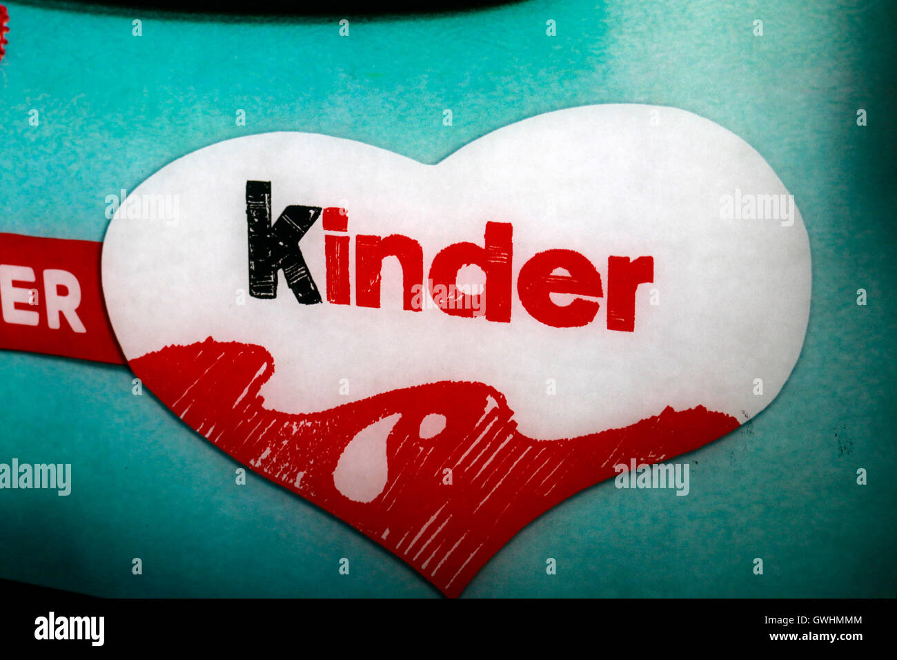 Kinder Logo Stock Photos Kinder Logo Stock Images Alamy