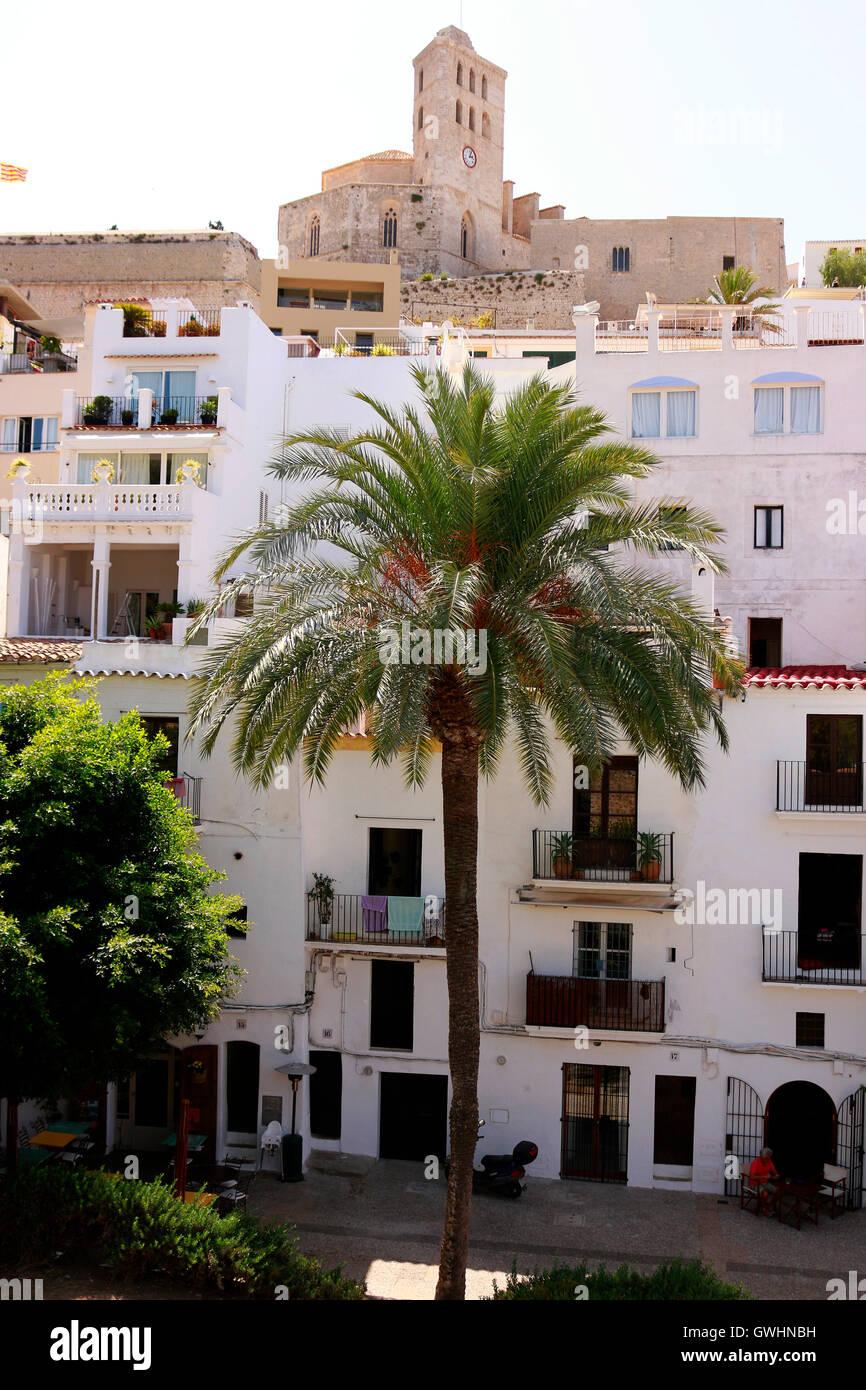 Ibiza-Stadt, Ibiza, Spanien. - Stock Image