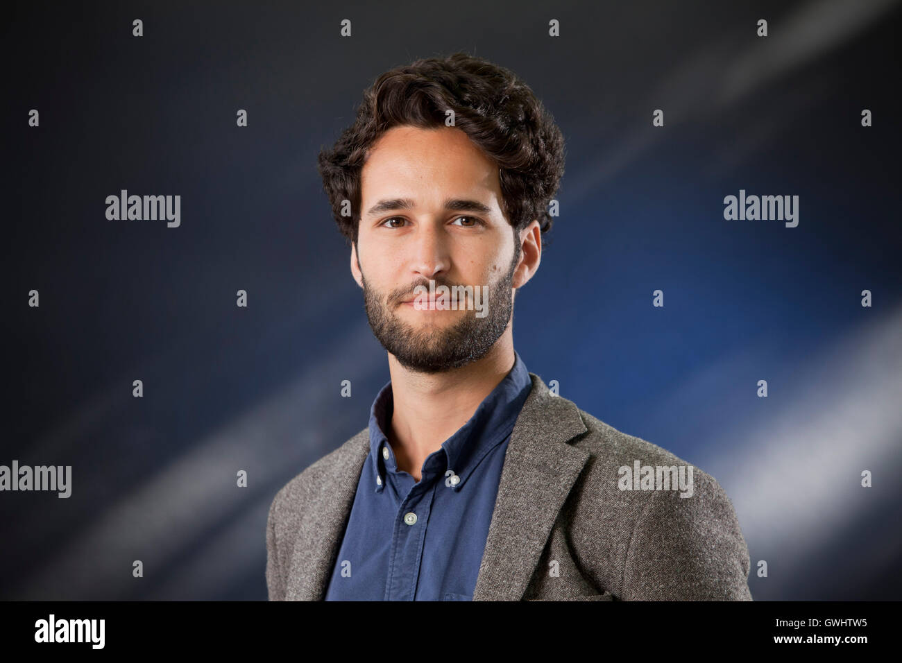 Daniel Susskind, the economist, lecturer and co-author, at the Edinburgh International Book Festival. Edinburgh, - Stock Image