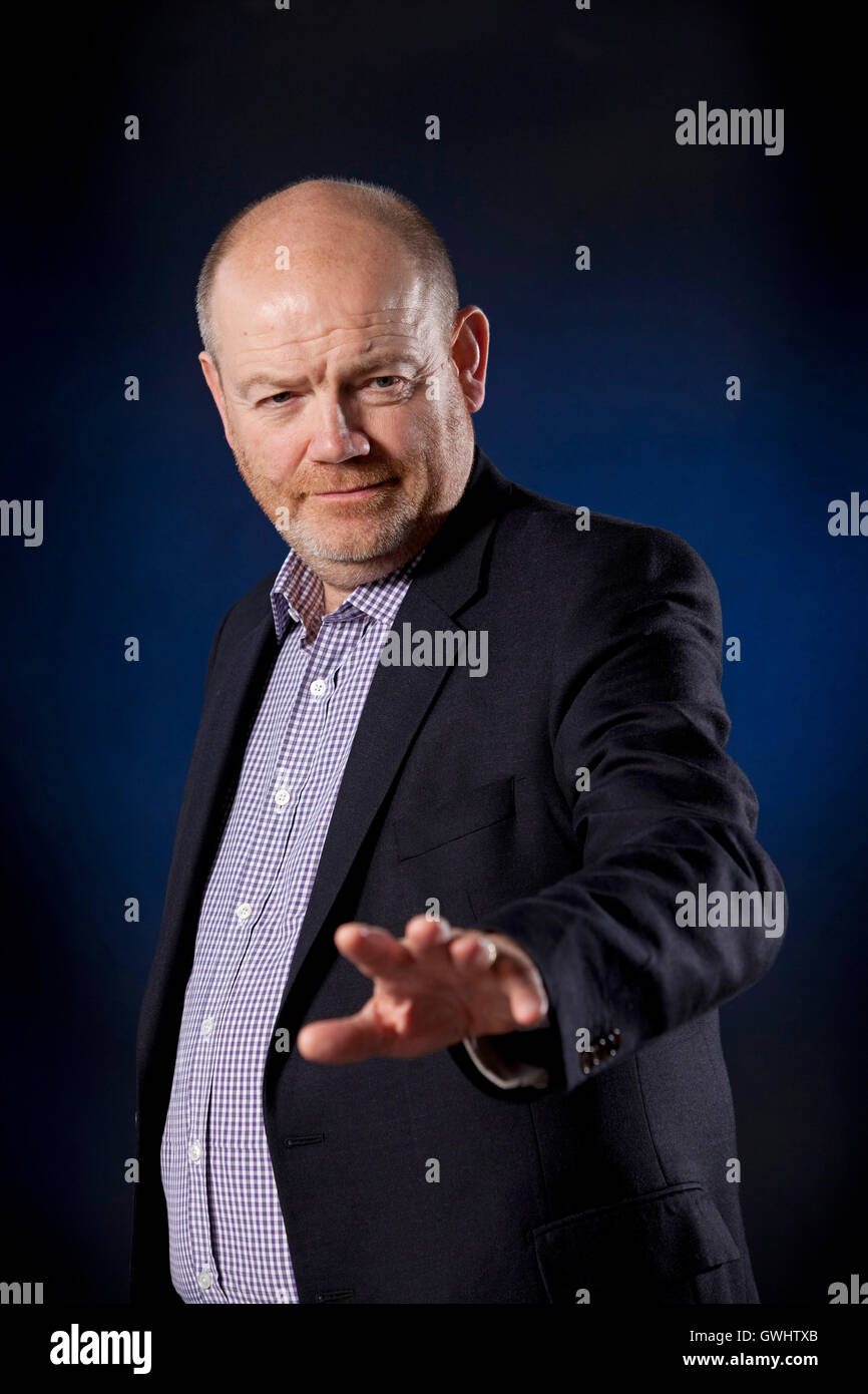 Mark Thompson, CEO of the New York Times  and former Director General of the BBC, at the Edinburgh International - Stock Image