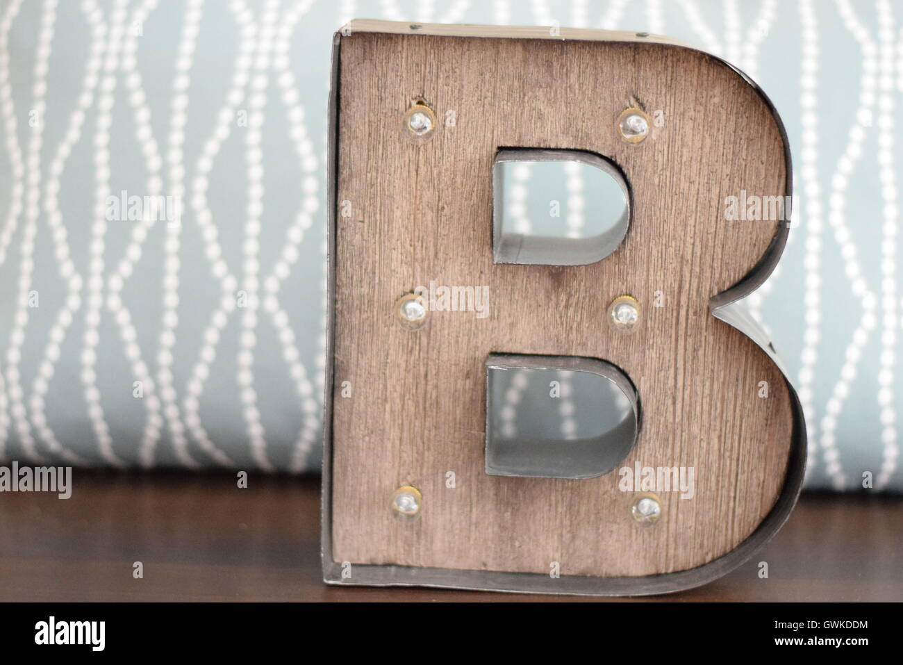 Initial B or letter B - Stock Image