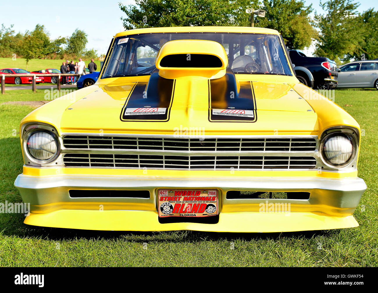 Classic Car Show held in the Northeast,  July 2018 - Stock Image