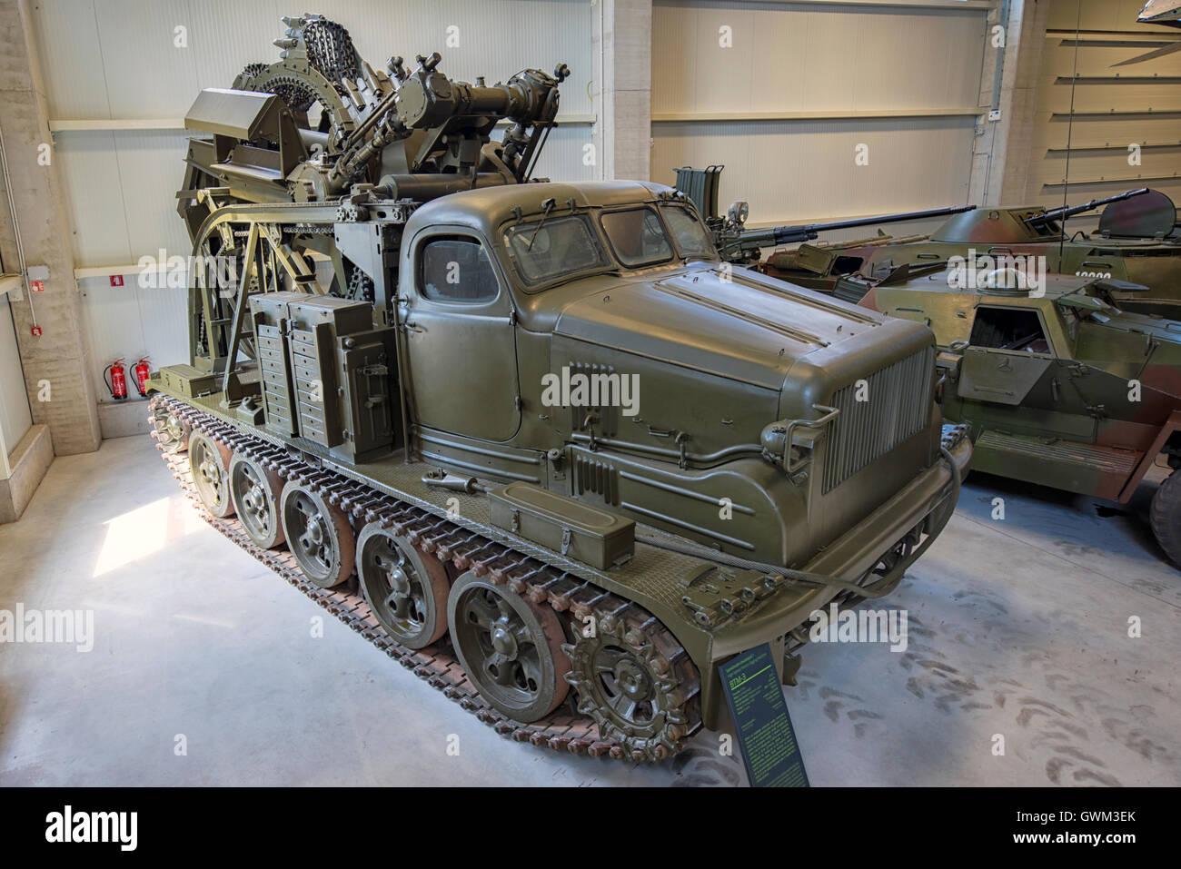 BTM-3 High-Speed Trench Diggin...