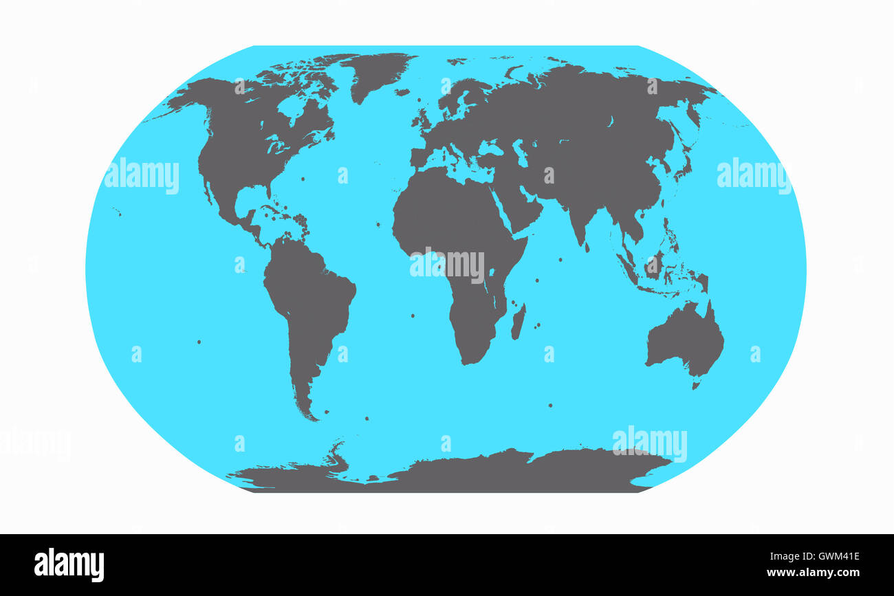 Flat earth map stock photos flat earth map stock images alamy world planet with world map vector flat design stock image gumiabroncs Images