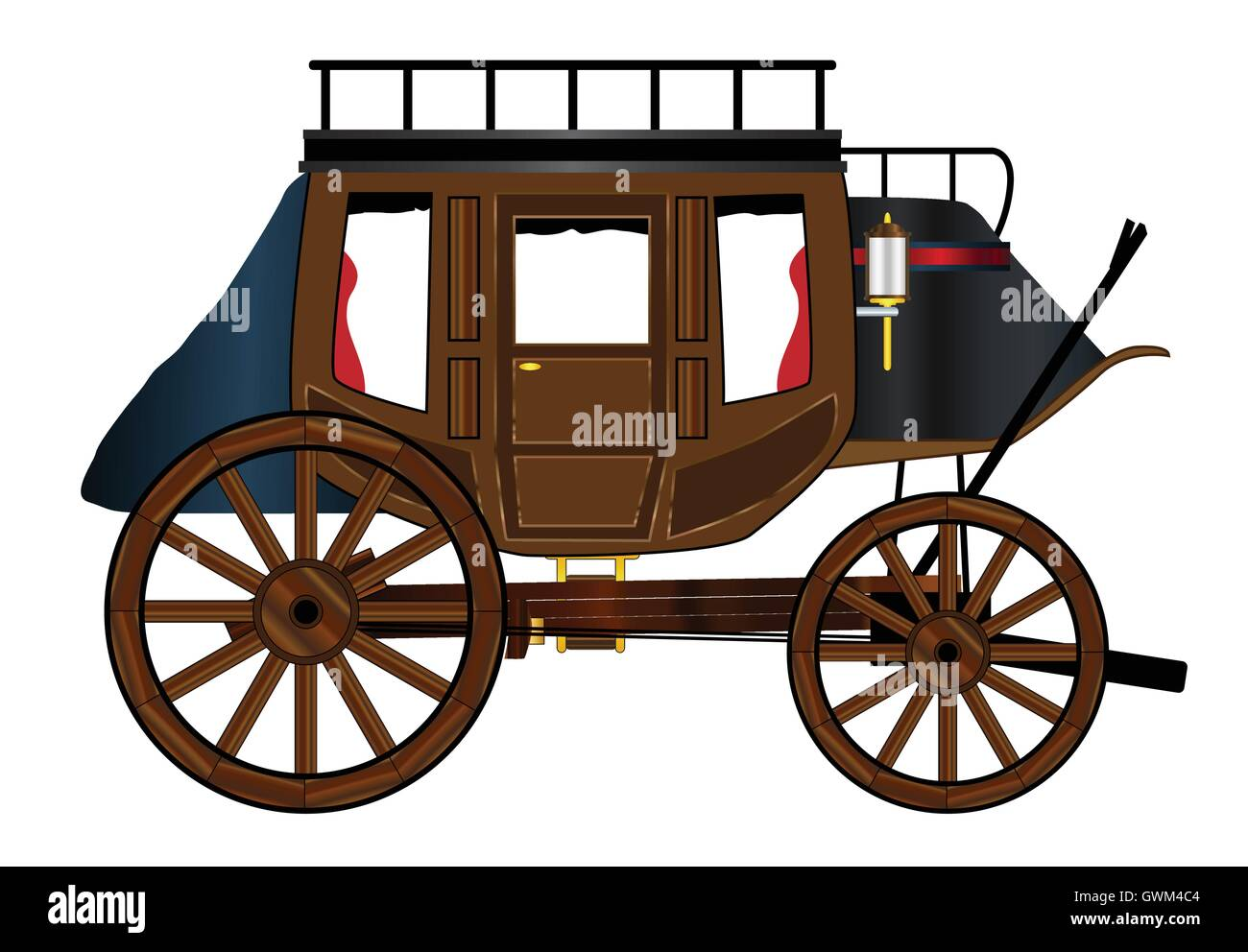 Western Stagecoach Stock Photos & Western Stagecoach Stock ...