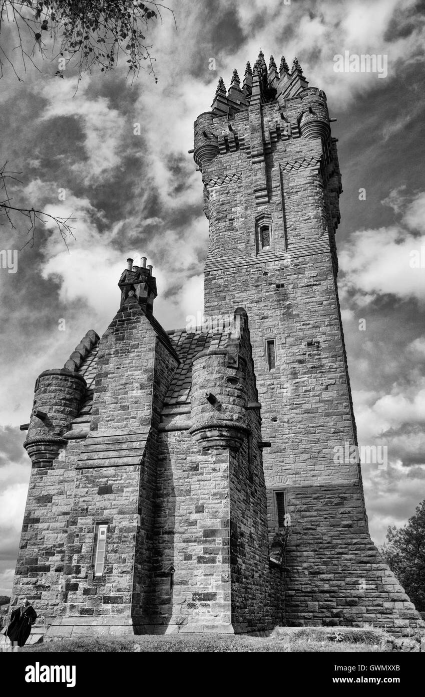 The National Wallace Monument - Stock Image