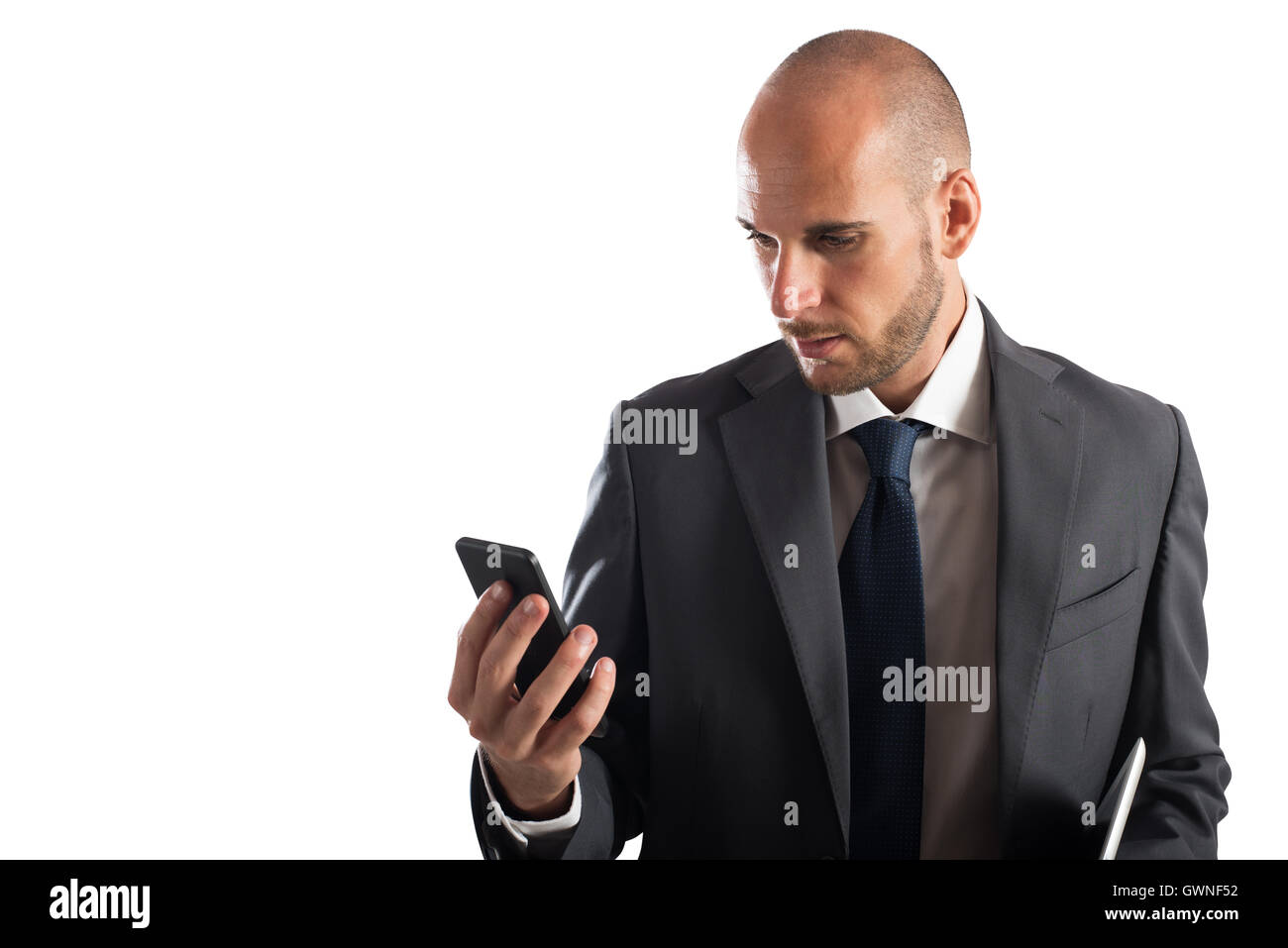 Business cellphone - Stock Image