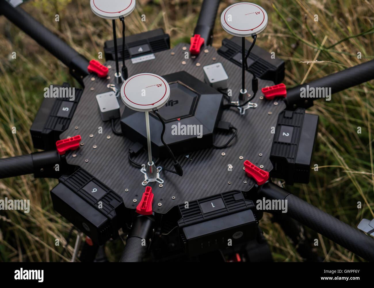 pro camera drone - Stock Image