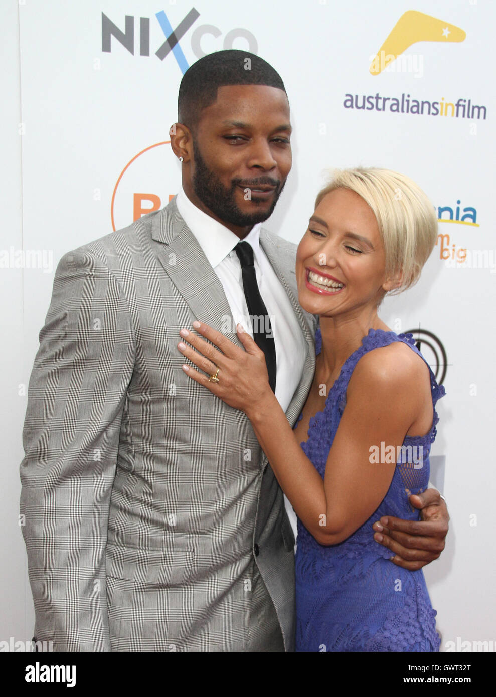 Australians In Film: Heath Ledger Scholarship Dinner  Featuring: Kerry Rhodes, Nicky Whelan Where: Beverly Hills, - Stock Image
