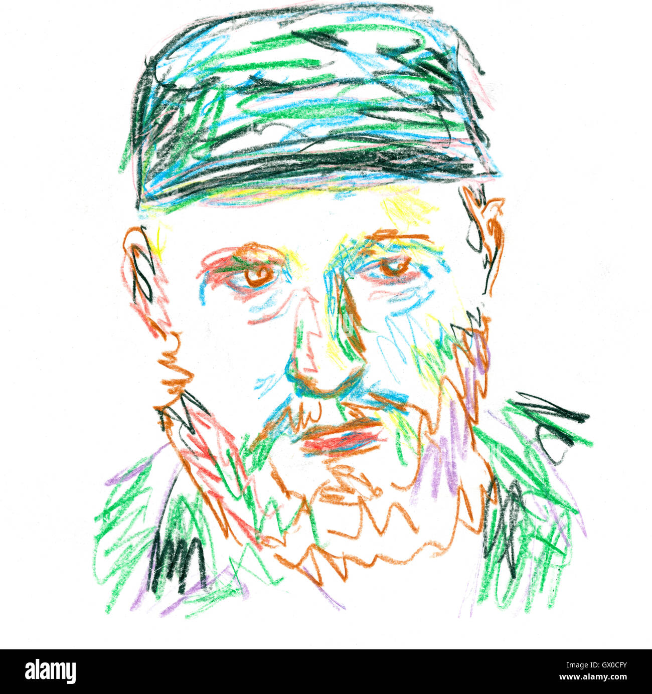 Fidel Castro Drawing