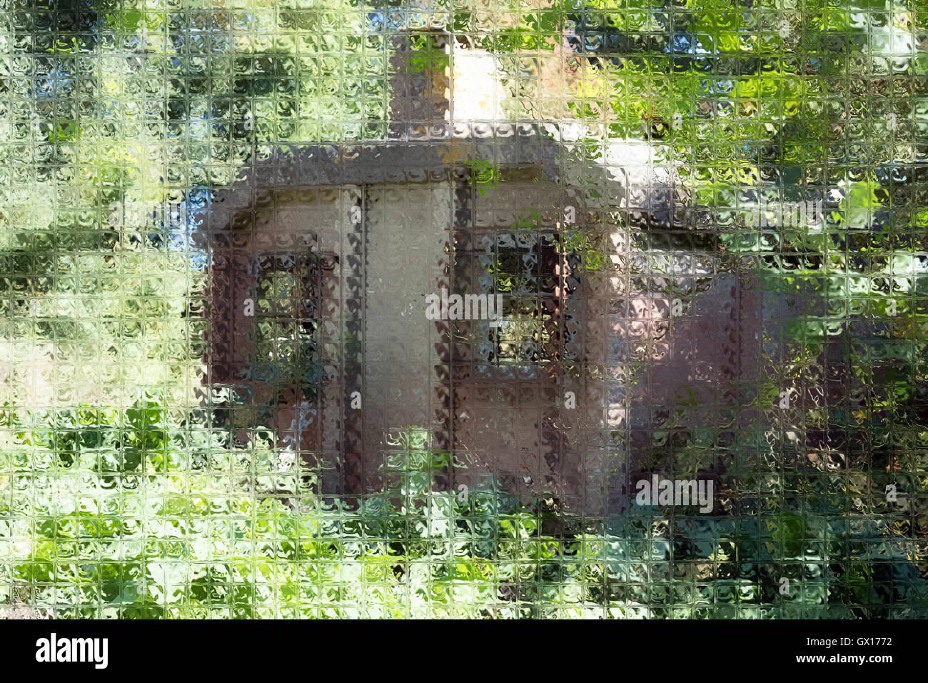 Digitally enhanced photograph - Stock Image