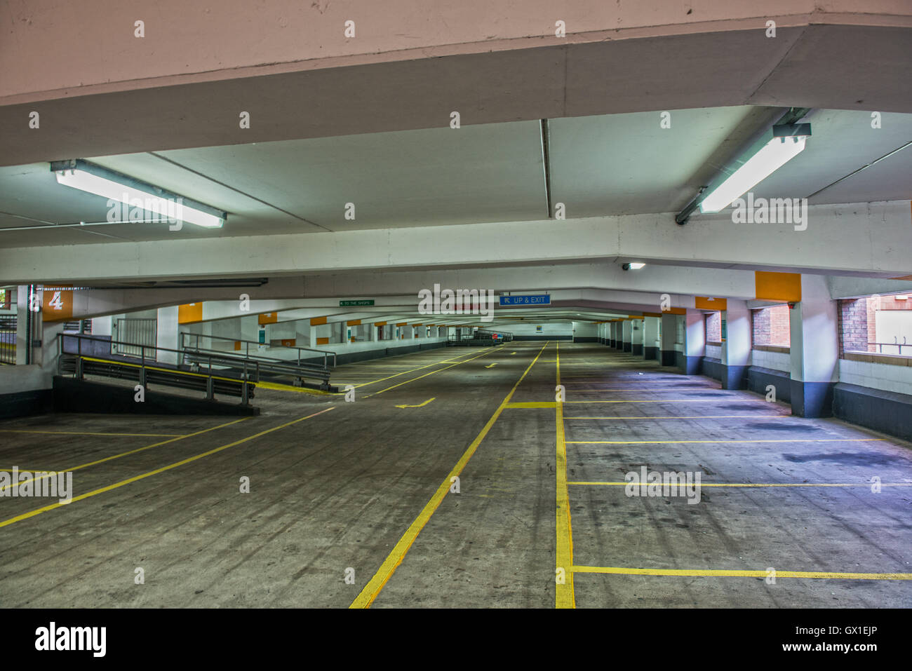 Prince Bishops Shopping Centre Multi Storey Car Park In The City Of