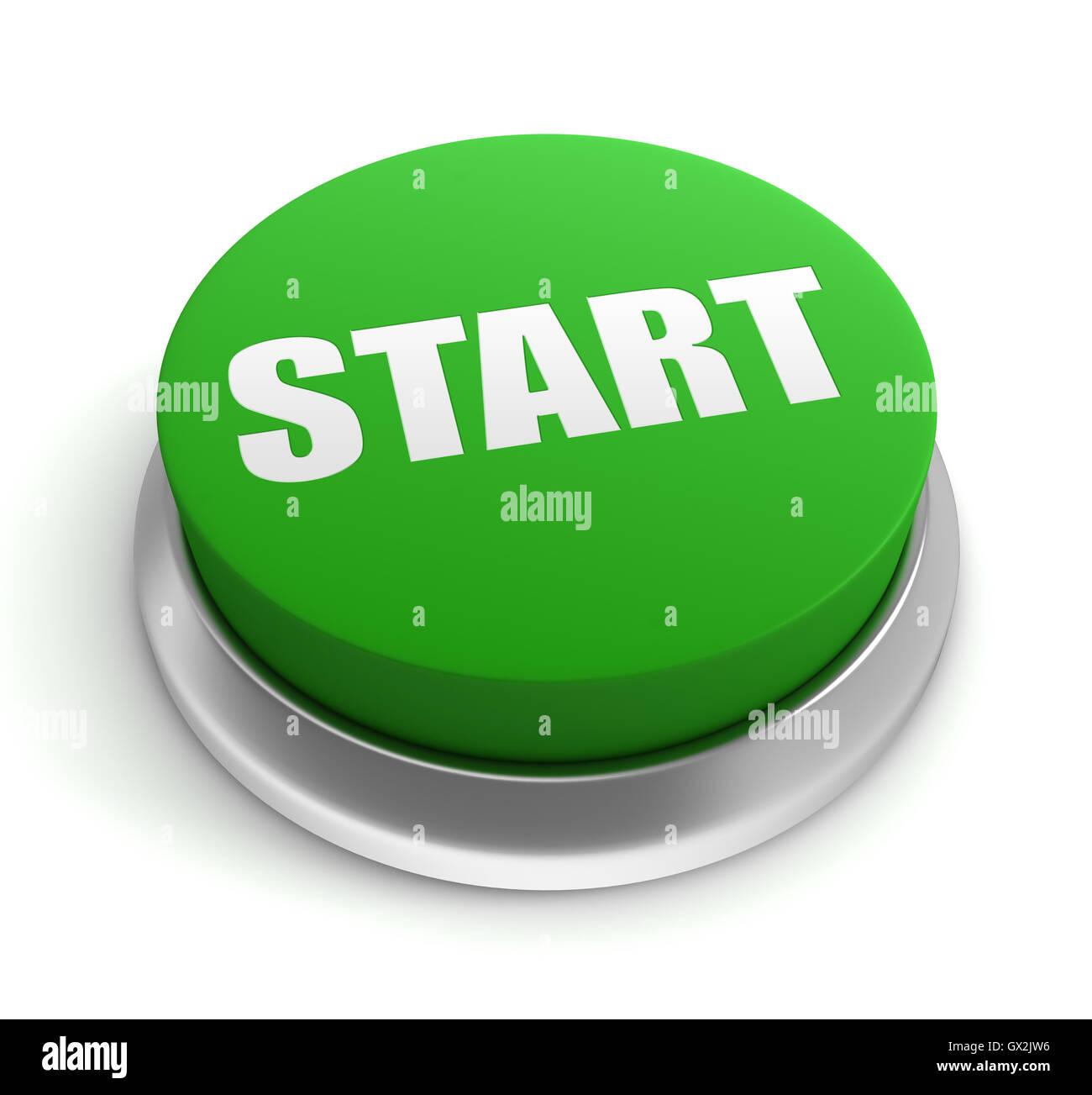 Start Button Computer ...