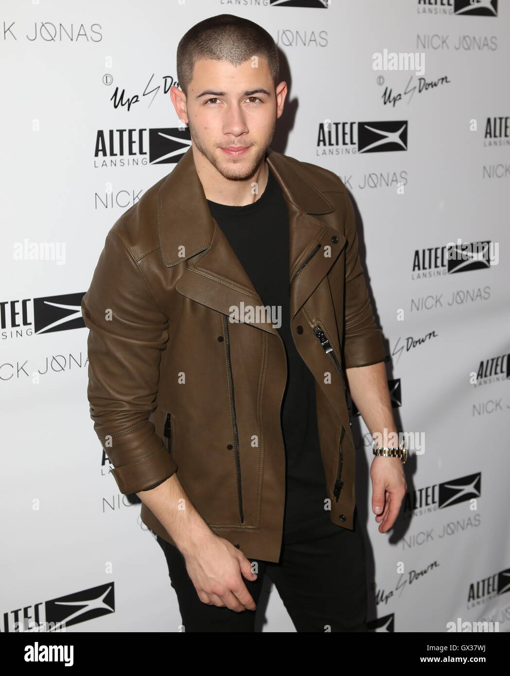 Altec Lansing x Nick Jonas collaboration launch at Up&Down