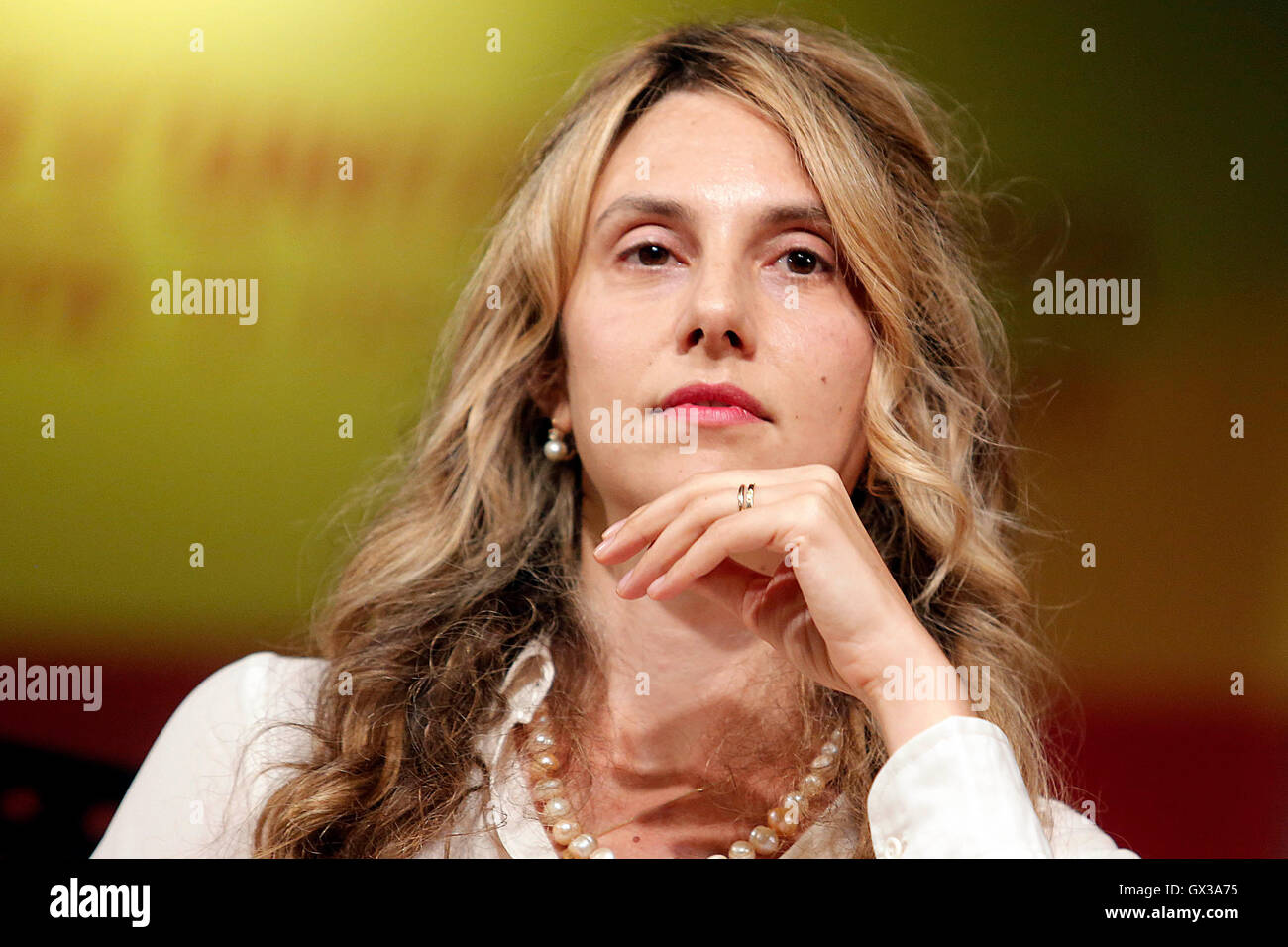 Roma, Italia. 14th Sep, 2016. Marianna Madia Rome 14th September 2016 Democratic Party fest  Credit:  insidefoto - Stock Image