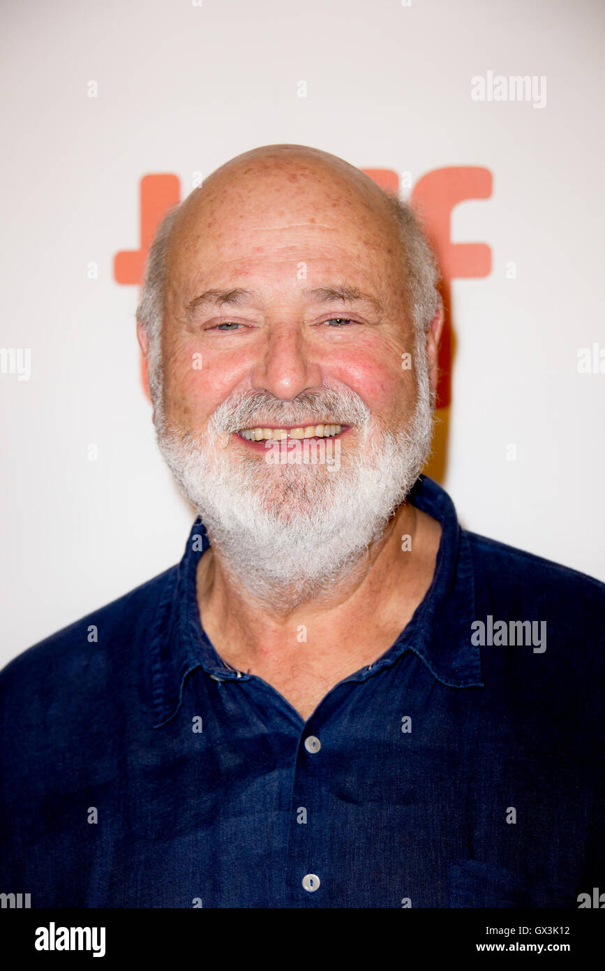 Toronto, Ontario, Canada. 15th Sep, 2016. Director ROB REINER attends the 'LBJ' premiere during the 2016 - Stock Image