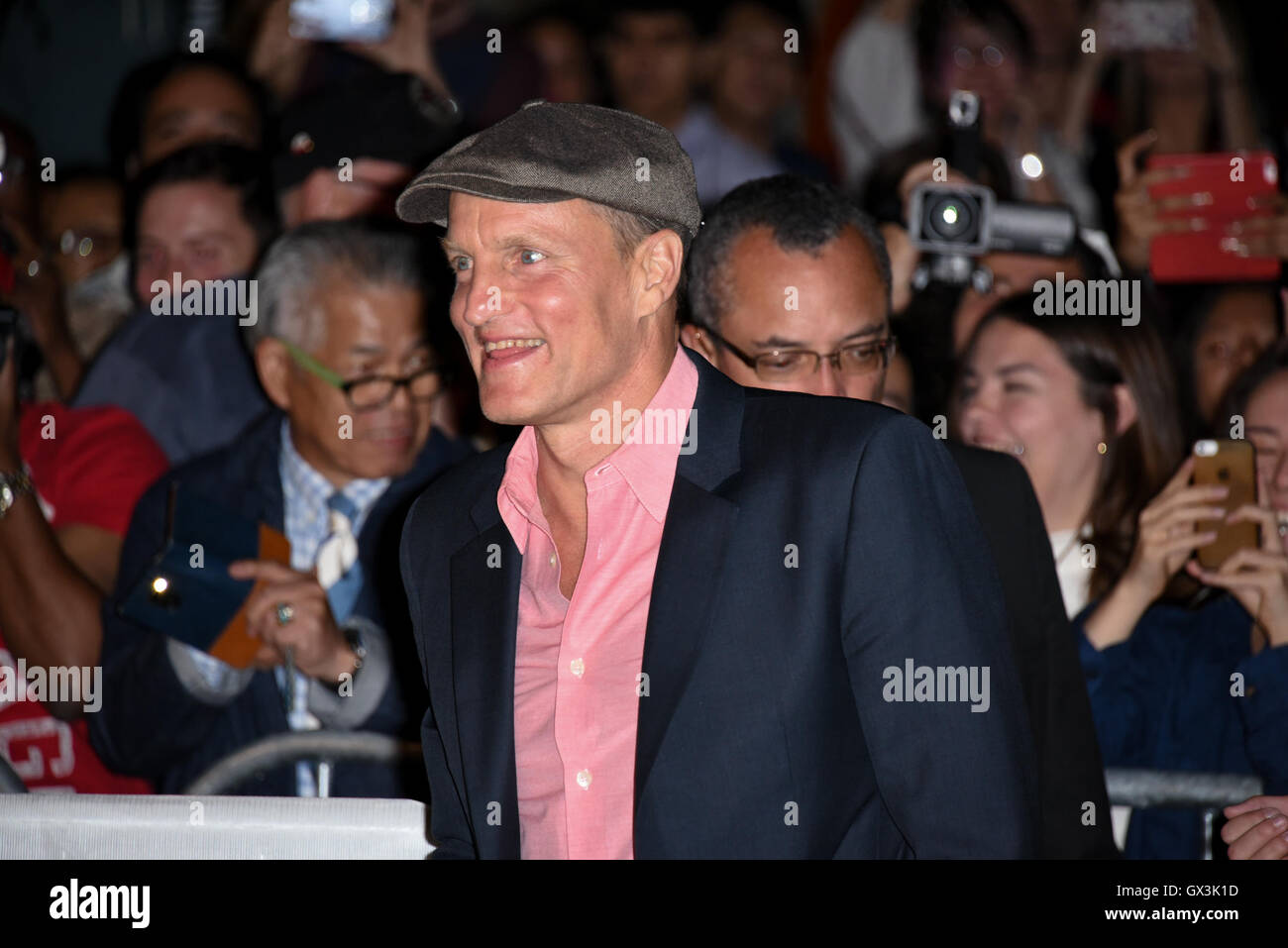 Toronto, Ontario, Canada. 15th Sep, 2016. Actor WOODY HARRELSON attends the 'LBJ' premiere during the 2016 - Stock Image