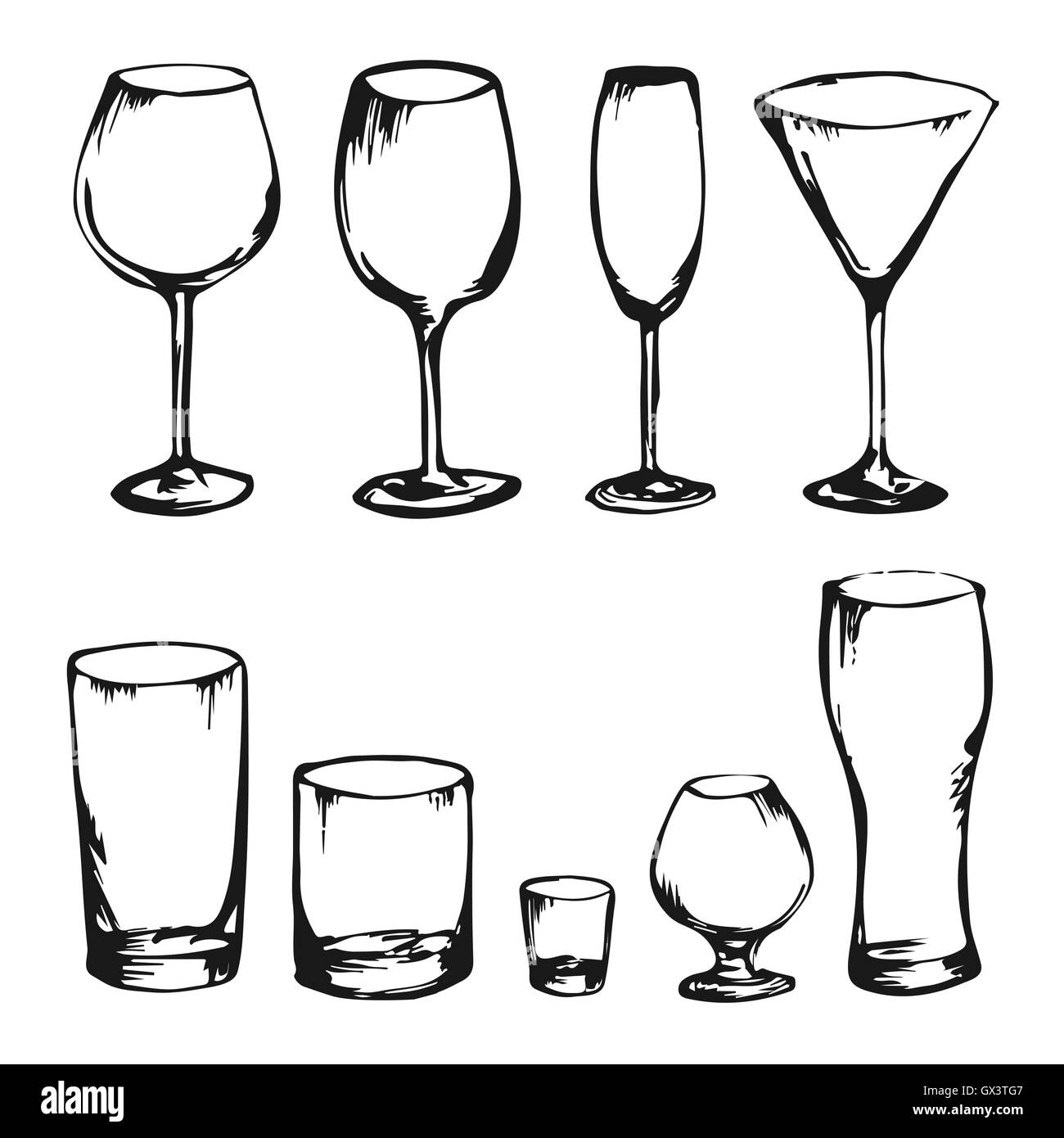 Alcohol Drink Drawing