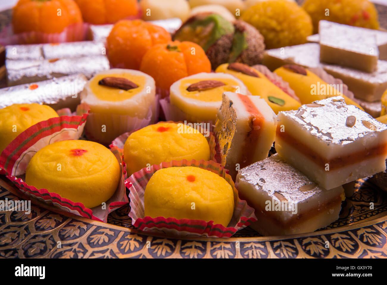 Indian Sweet Food Consumed In Festivals Like Diwali, Holi