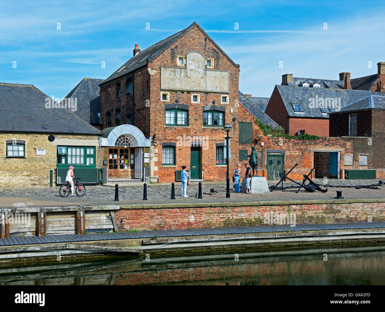 Purfleet Quay, Kings Lynn, Norfolk, England UK - Stock Image