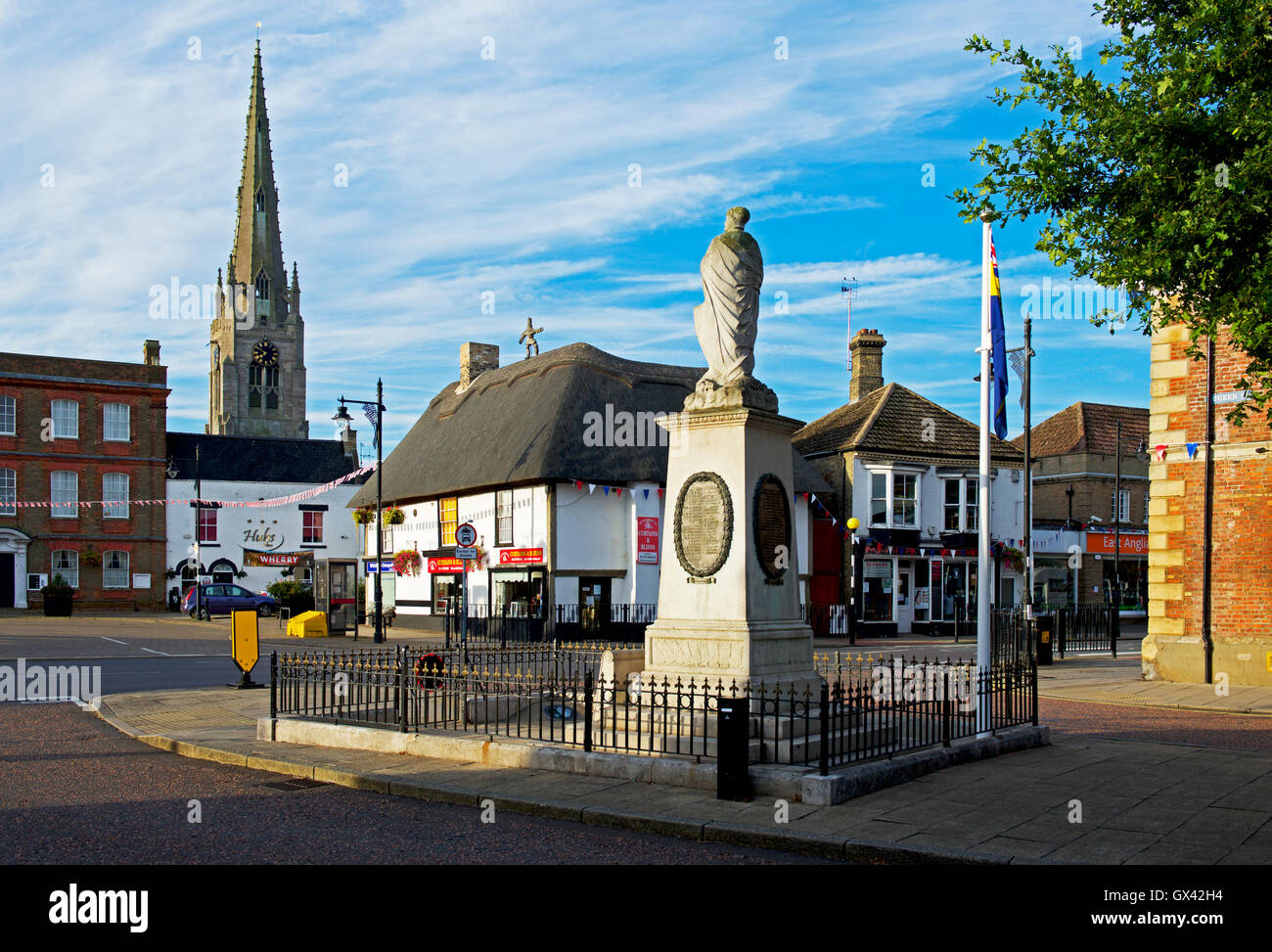 Whittlesea, Cambridgeshire, England UK - Stock Image