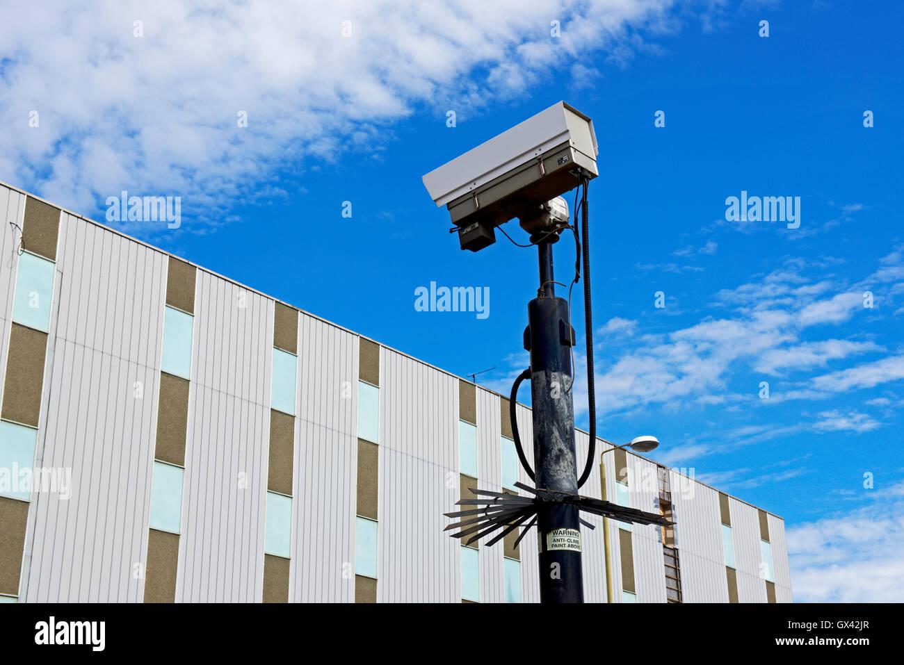 CCTV camera, England UK - Stock Image