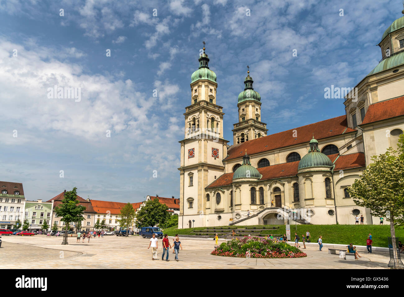 basilika st lorenz in kempten allgaeu bayern deutschland stock photo 119356250 alamy. Black Bedroom Furniture Sets. Home Design Ideas