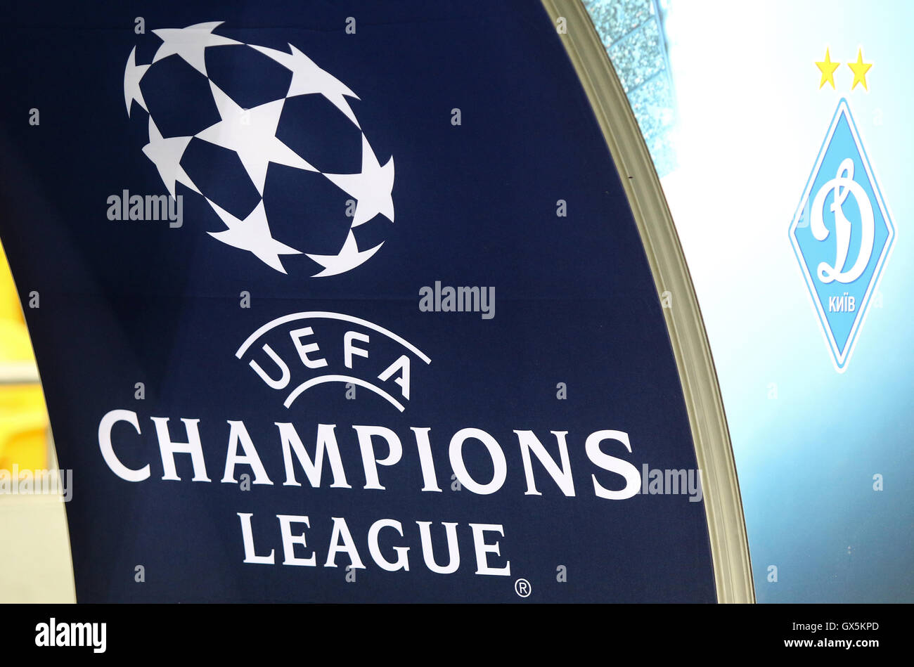 Champions League Logo Stock Photos & Champions League Logo