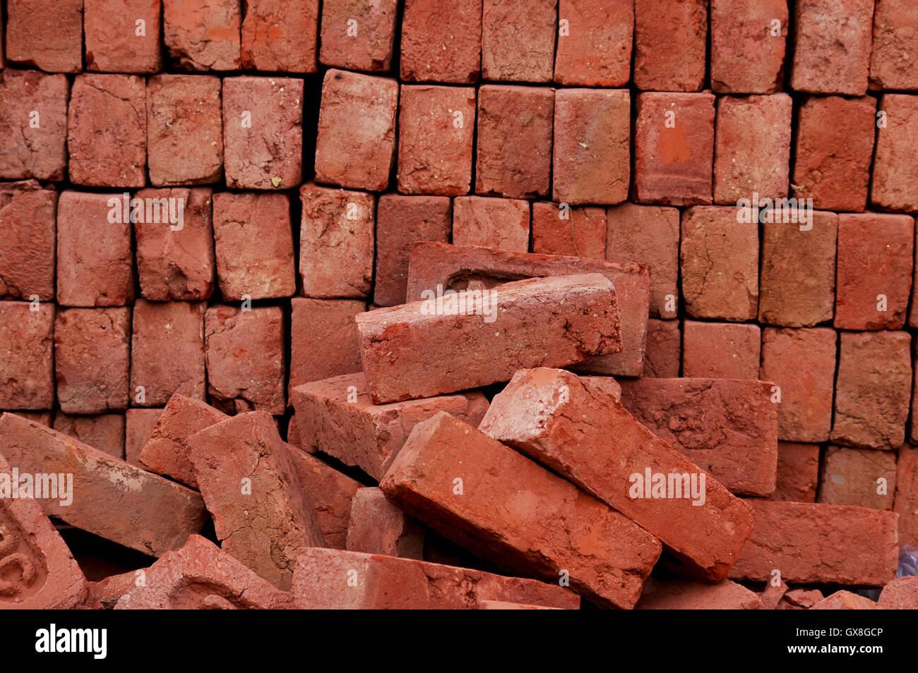 Red Brick - Stock Image