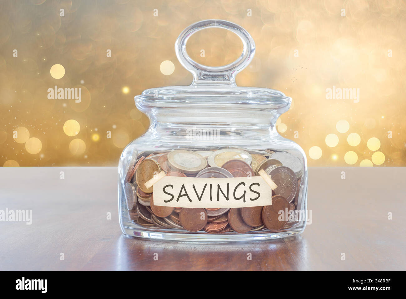 saving for future - Stock Image