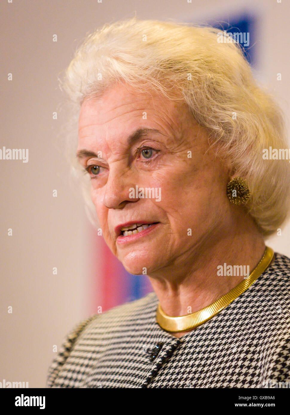 WASHINGTON, DC USA - U.S. Supreme Court Justice Sandra Day O'Connor - Stock Image
