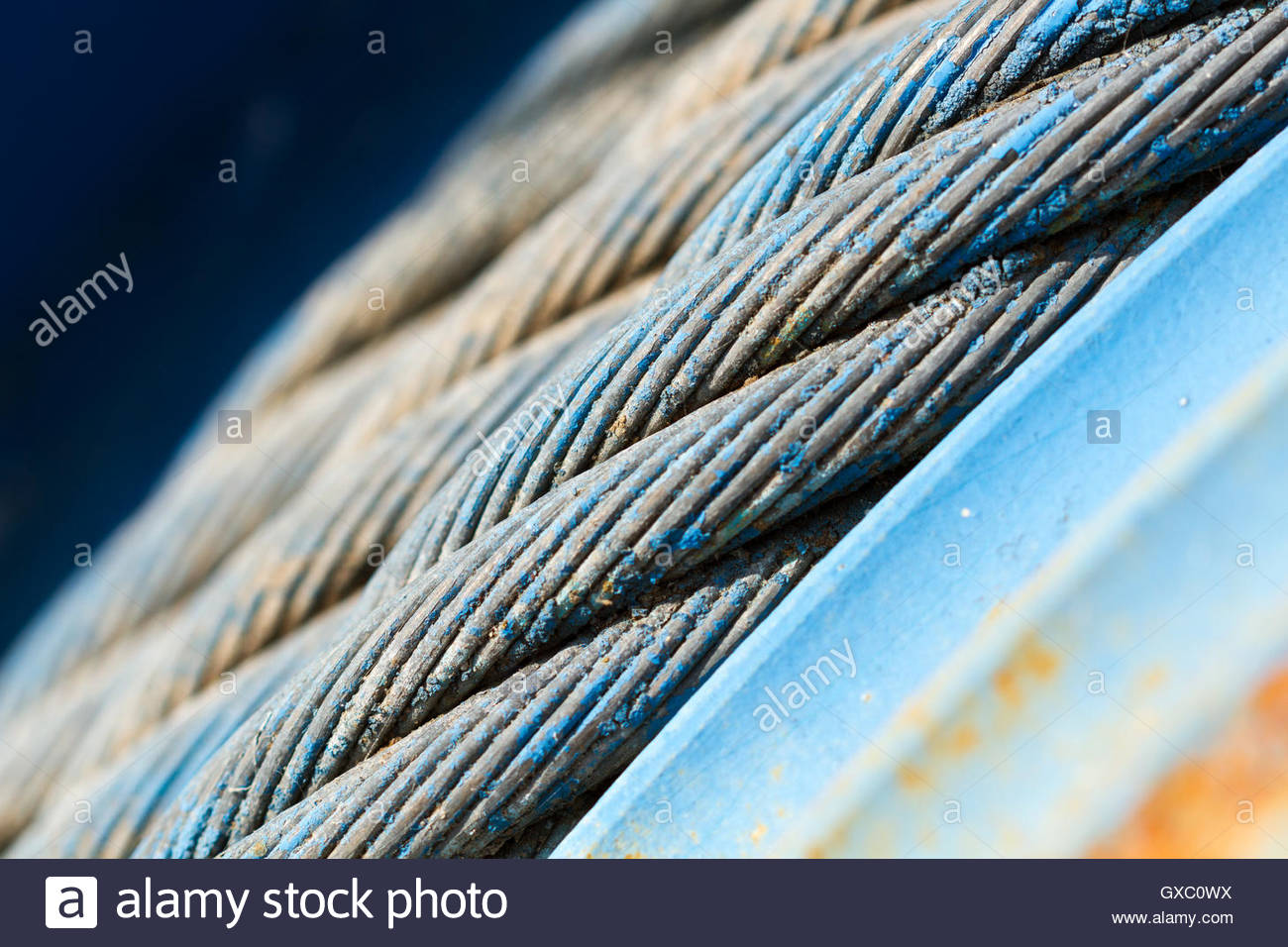 Wire Rope Stock Photos & Wire Rope Stock Images - Alamy