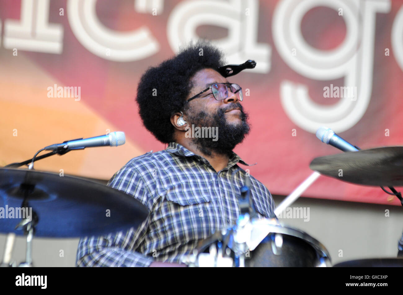 Taste of Chicago 2016 at the Petrillo Band Shell - Day 1  Featuring: The Roots Where: Chicago, Illinois, United Stock Photo