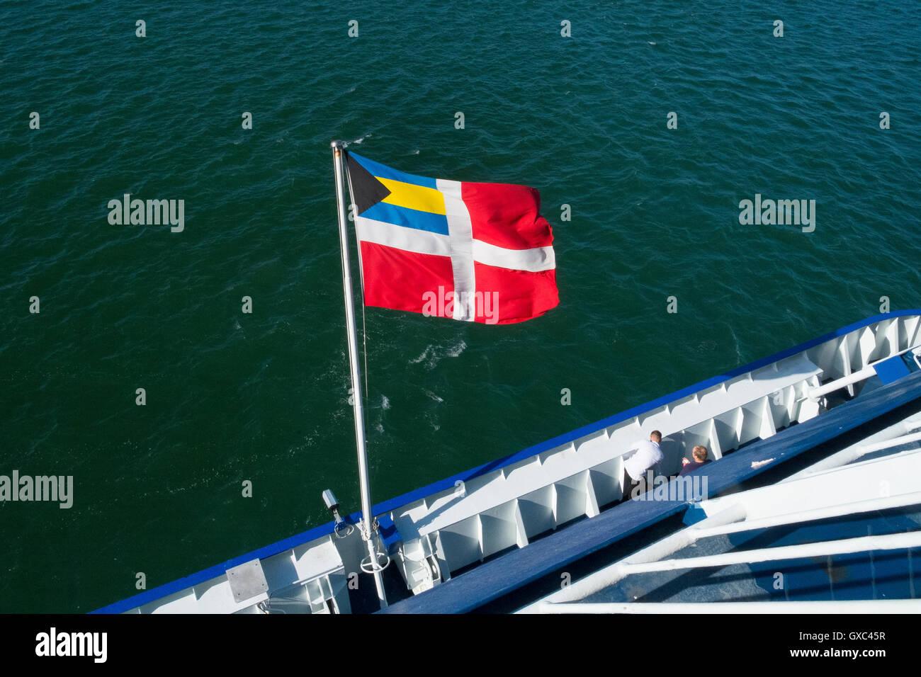 bahamian flag bahamas national emblem - Stock Image