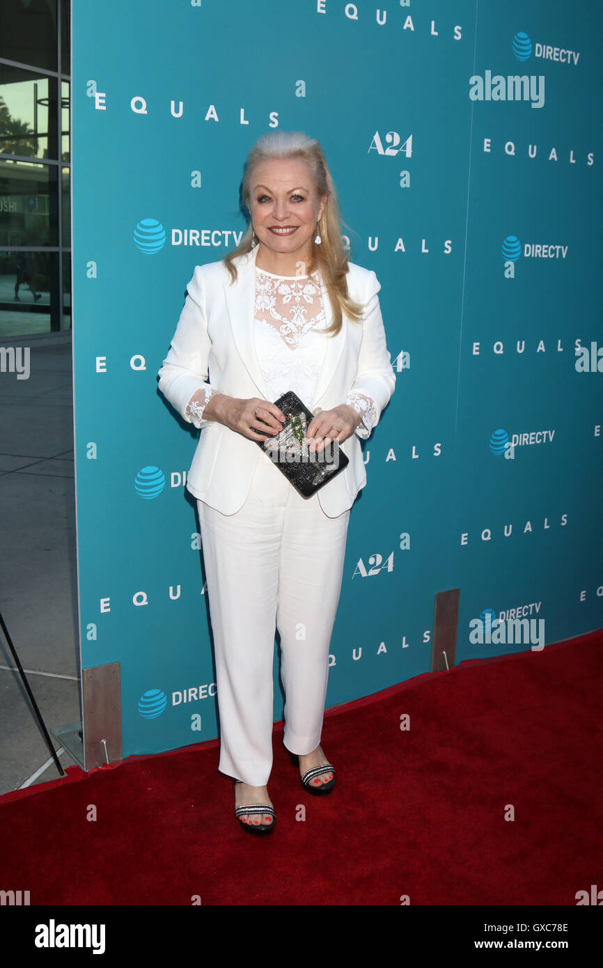 Premiere of A24's 'Equals' at ArcLight Hollywood - Arrivals  Featuring: Jacki Weaver Where: Los Angeles, California, Stock Photo